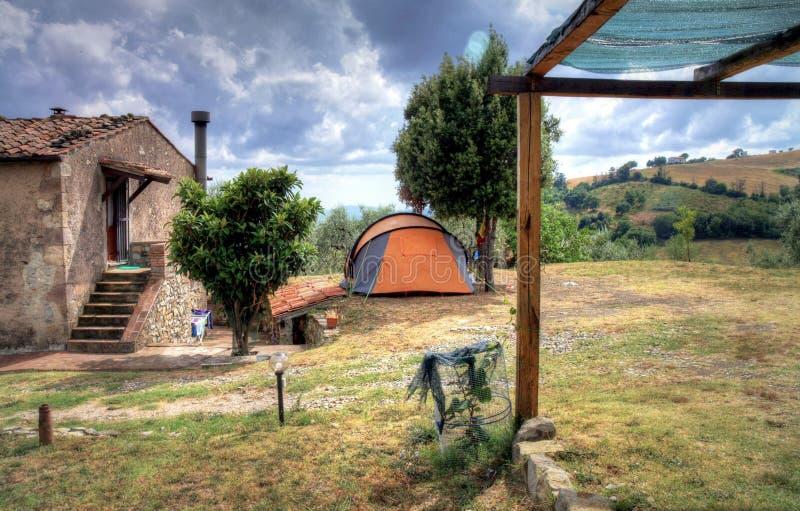 Летнее время в Тоскане, Италии стоковое изображение rf