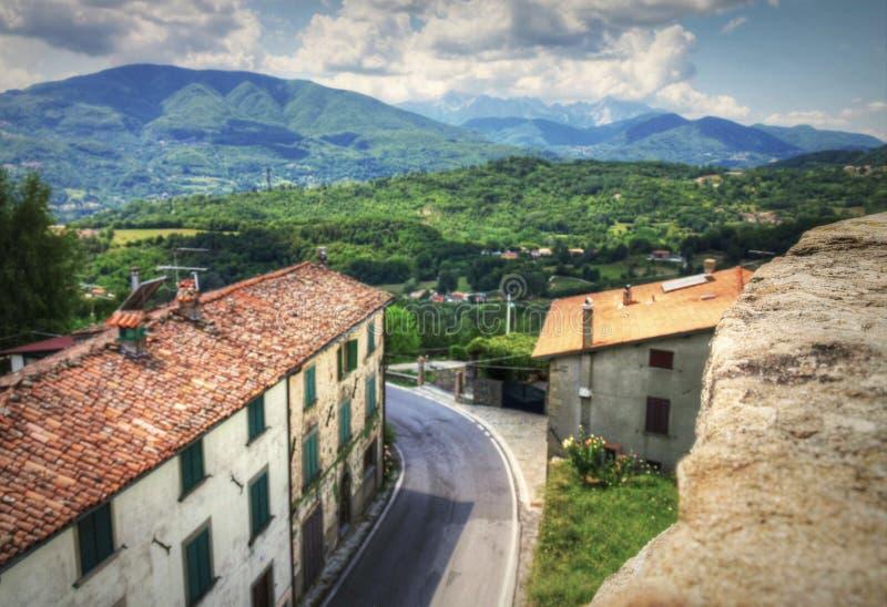 Летнее время в Тоскане, Италии стоковые фото
