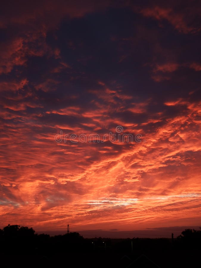 Летнее солнцестояние стоковое изображение rf