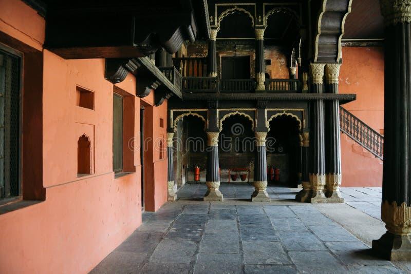 Летний дворец султана Tipu на Bengaluru, Индии стоковое изображение