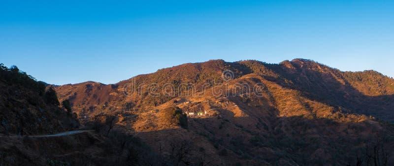Лето Бенгалии лета горы западное в Индии trekking стоковое изображение