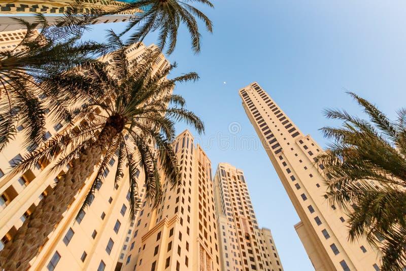 Лето в Дубай, ОАЭ стоковое изображение rf