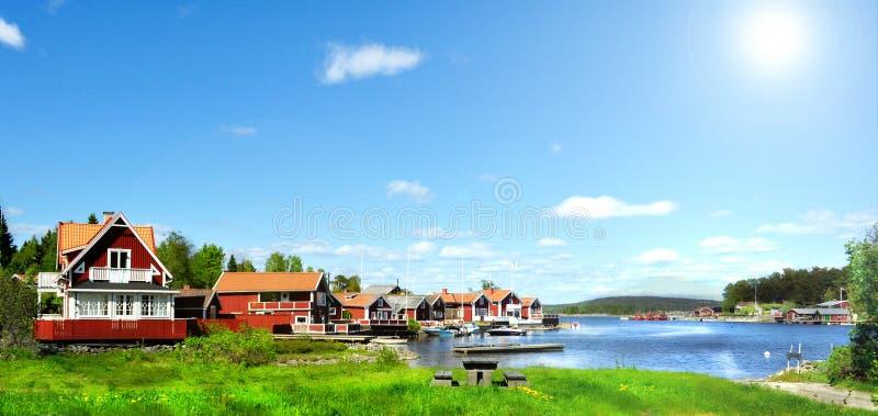 Лето в Швеции стоковое изображение