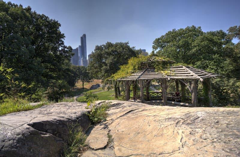 Лето в Central Park стоковая фотография rf