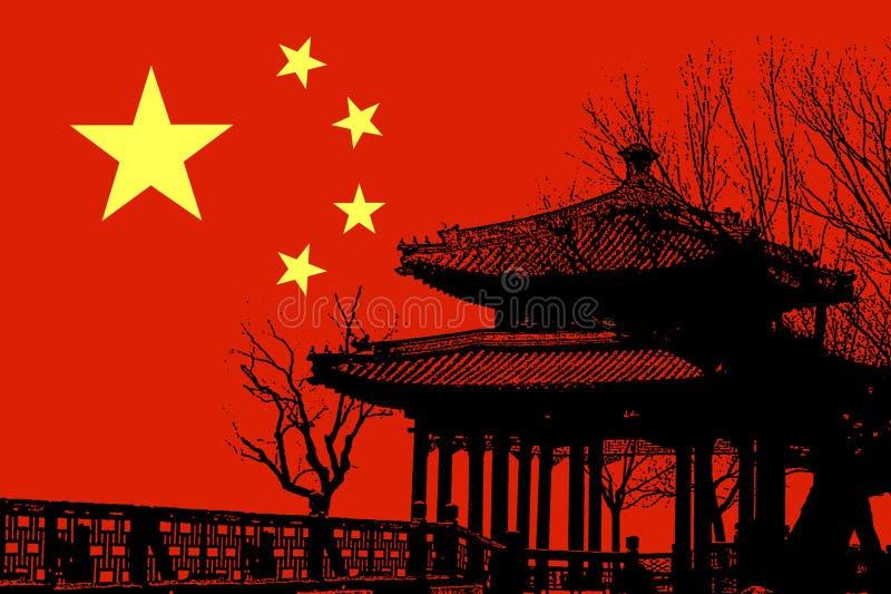 лето дворца Пекин иллюстрация штока