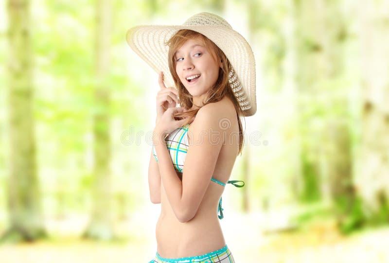 лето девушки стоковое фото