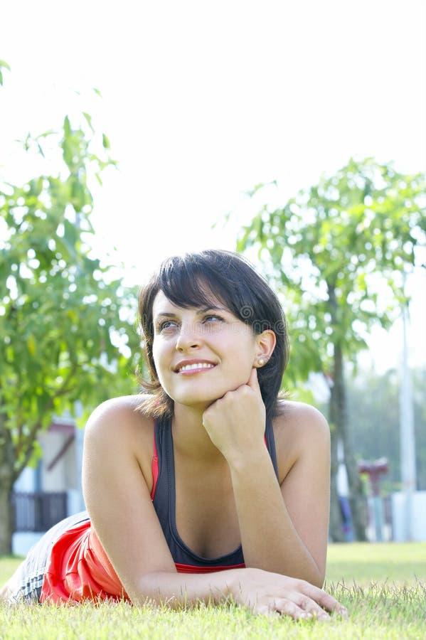 лето девушки стоковая фотография