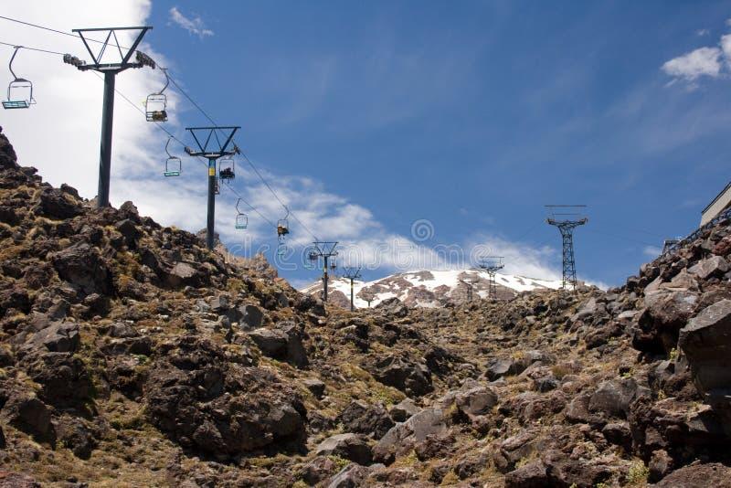 лето лыжи курорта стоковые фотографии rf