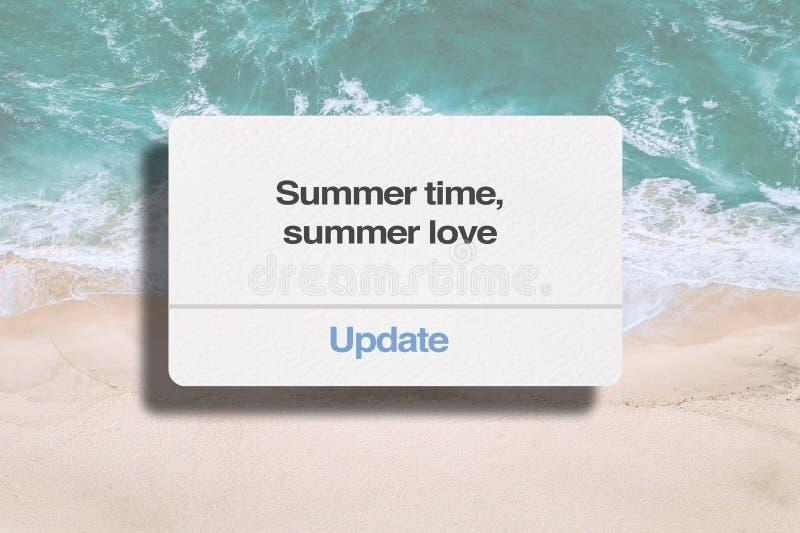 Лето, любовь лета стоковое фото rf
