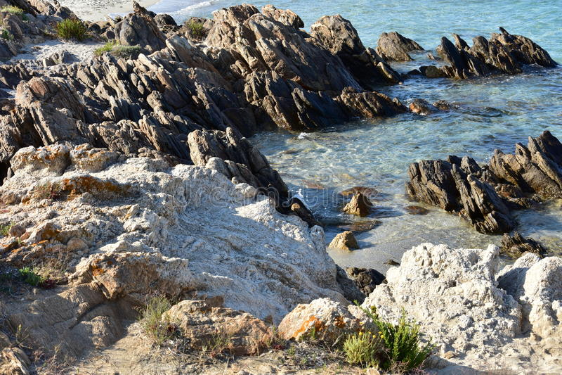 Лето на острове Сардинии стоковые изображения