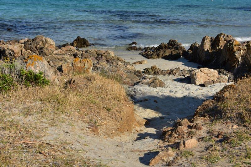 Лето на острове Сардинии стоковое изображение
