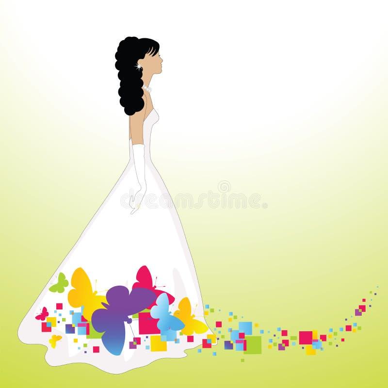 лето невесты иллюстрация штока