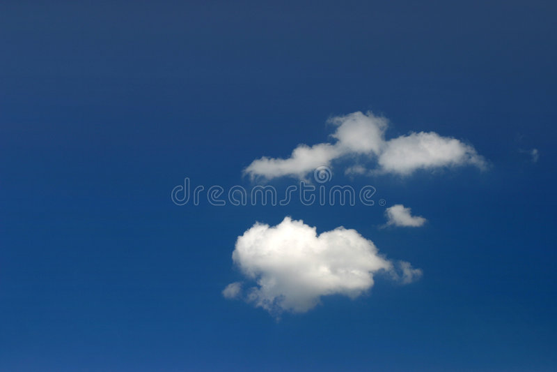 лето облака стоковая фотография rf