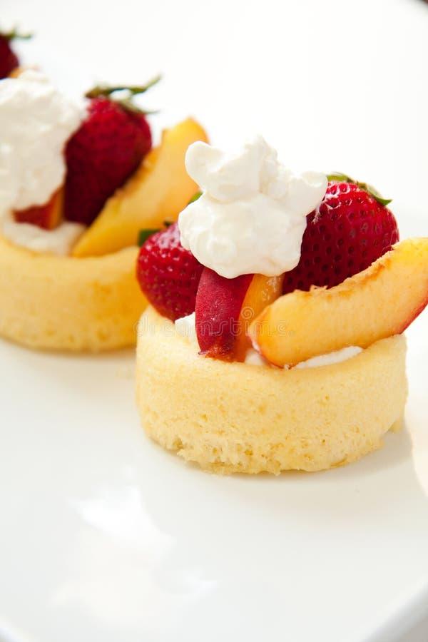 лето плодоовощ десерта просто стоковое изображение rf