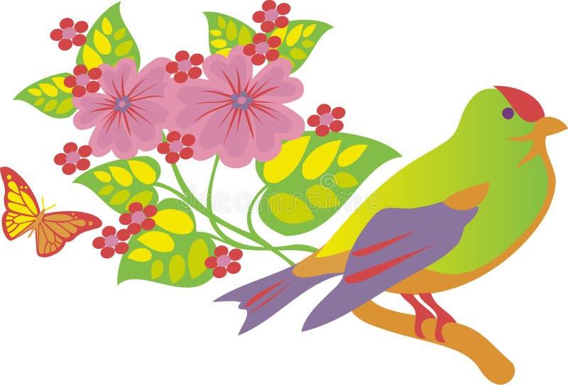 лето птицы бесплатная иллюстрация