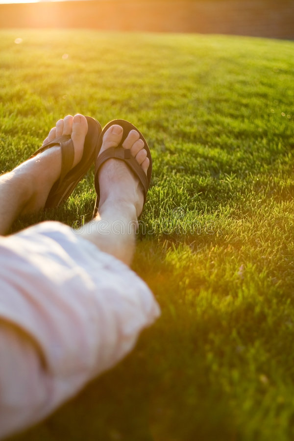 лето релаксации стоковое фото rf