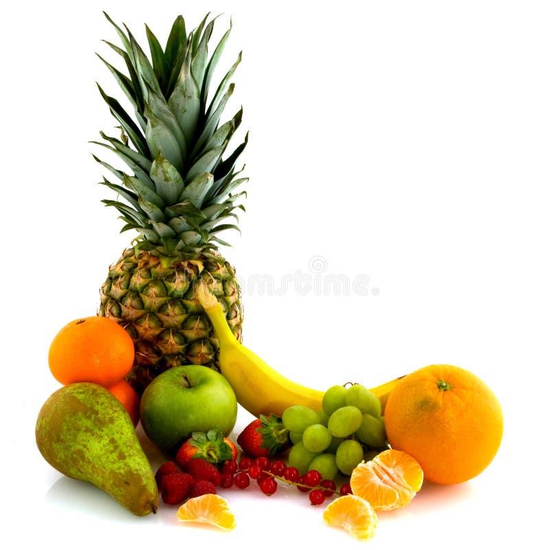 лето свежих фруктов расположения стоковые фото