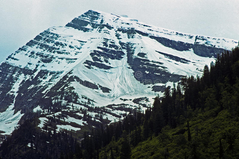 лето снежка рая пиковое s стоковая фотография rf