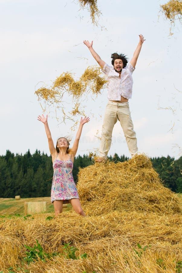 лето счастья стоковая фотография rf