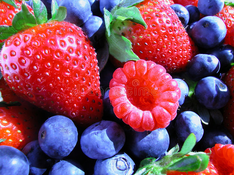 лето ягод стоковое изображение