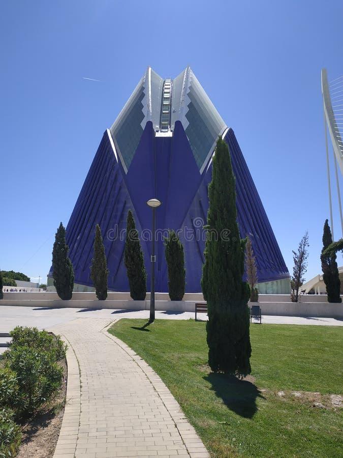 Лето artes ciudad monumento Валенсия стоковые изображения