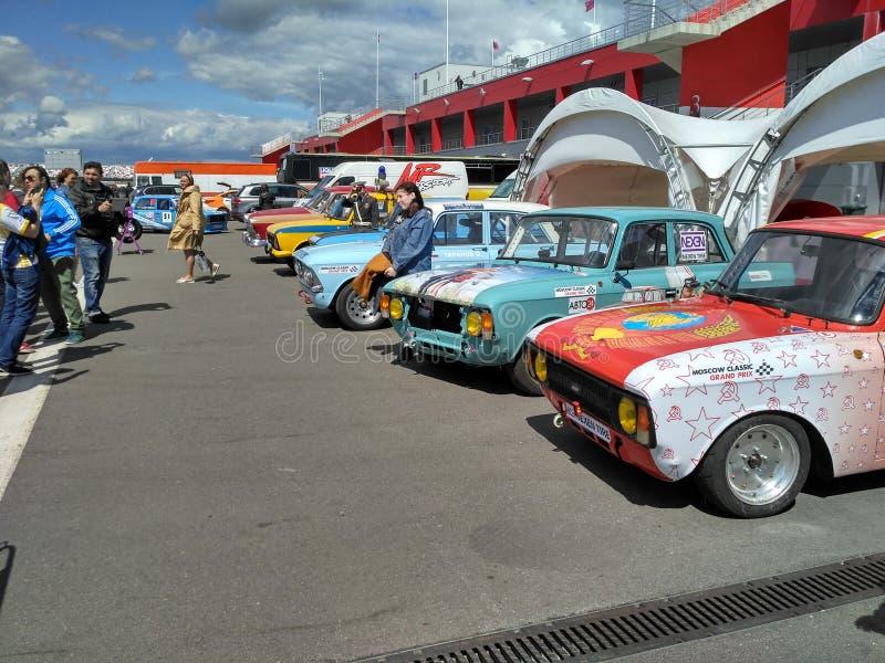 Лето raceway Москвы стоковые фотографии rf