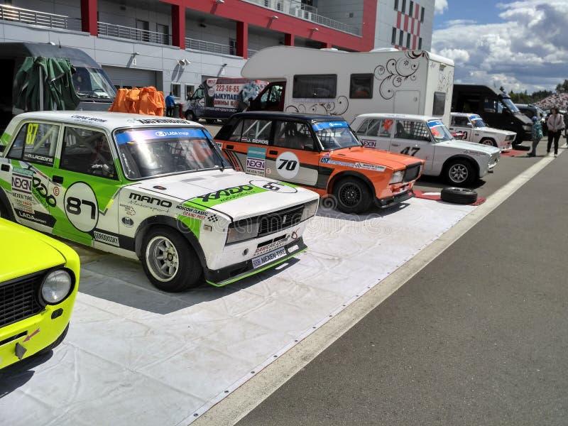 Лето raceway Москвы стоковое фото rf
