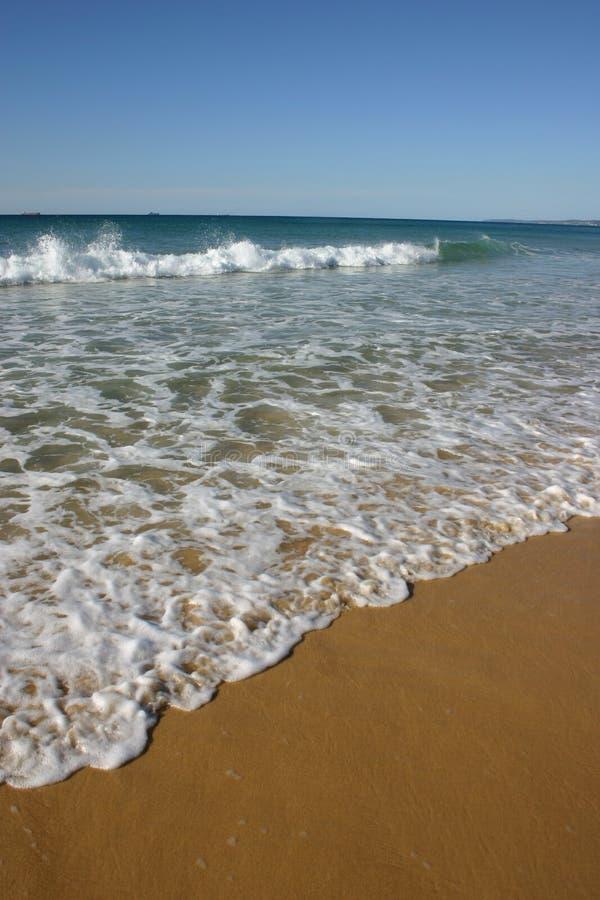 лето redhead newcastle пляжа стоковые фотографии rf