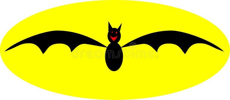Download летучая мышь иллюстрация вектора. иллюстрации насчитывающей запустело - 6855520