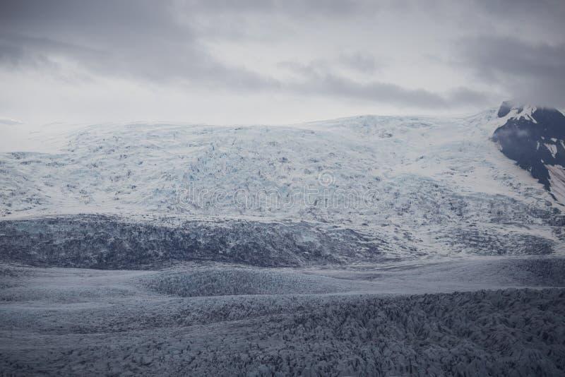 Ледник в южной Исландии стоковые фото