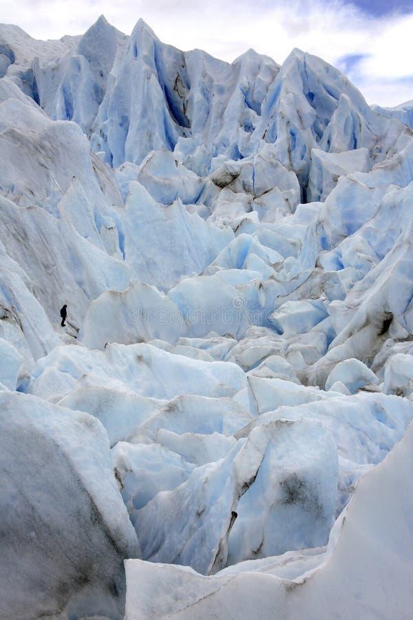 Ледник Perito Moreno - Патагония - Аргентина стоковые фотографии rf