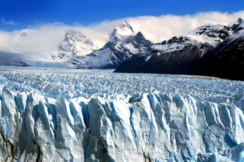 Ледник Perito Moreno стоковые фотографии rf