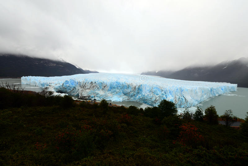 Ледник Perito Moreno стоковая фотография