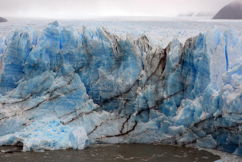 Ледник Perito Moreno стоковые изображения