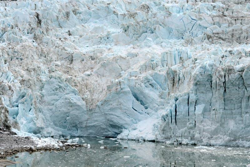 Ледник Pia на архипелаге Огненной Земли стоковая фотография