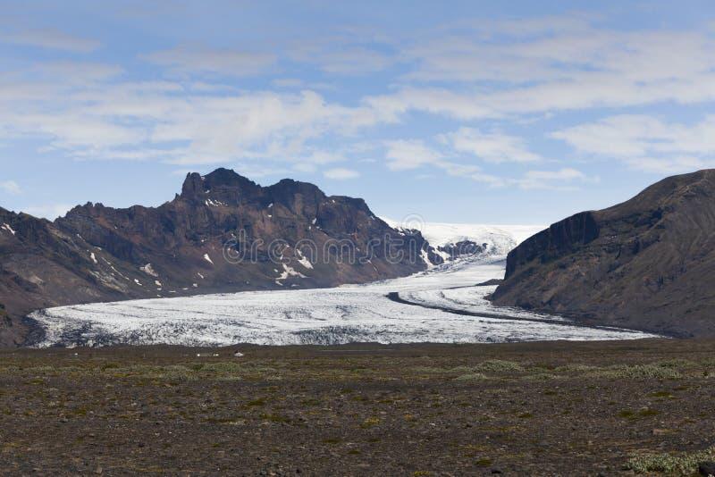 Ледник rjökull ¡ Skeiðarà стоковые изображения rf