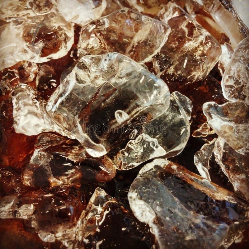 Лед - холодный кокс стоковая фотография rf
