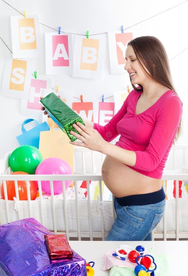 ливень младенца стоковое изображение