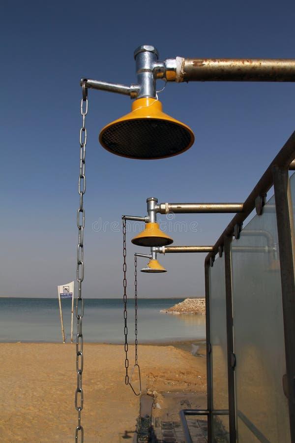 ливень моря пляжа стоковые фото