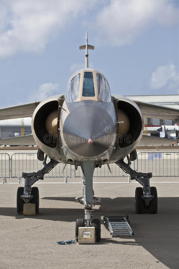 Ливийский Reg 502 миража F1 Военно-воздушных сил стоковое изображение