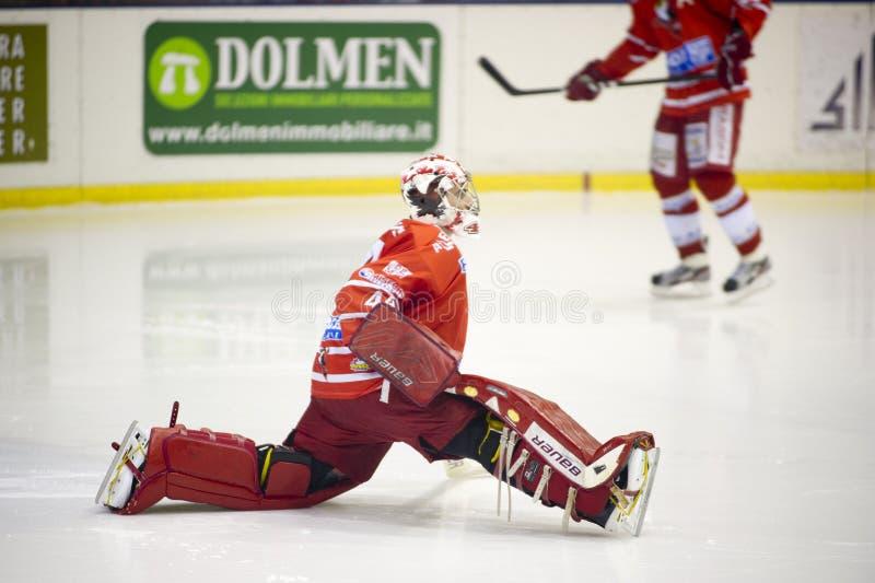 Лига хоккея на льду итальянская премьер-министр стоковые фото