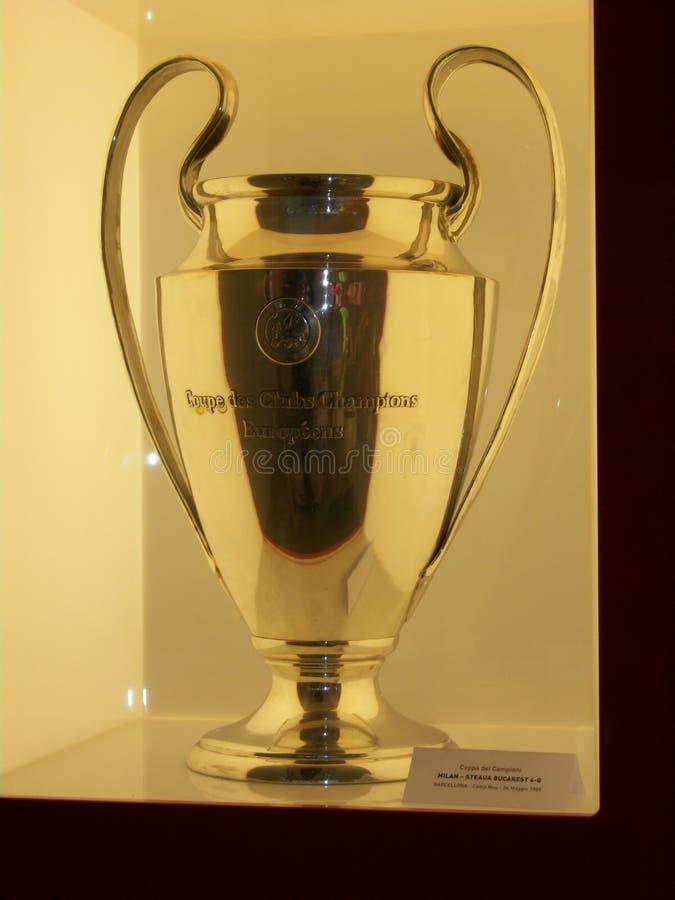 лига чашки 1989 чемпионов стоковое фото