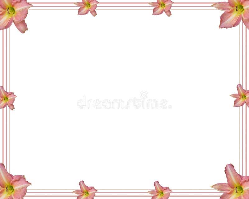 лилия иллюстрация вектора