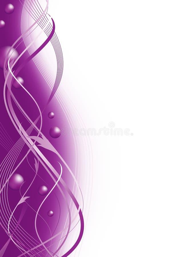 лилово иллюстрация штока