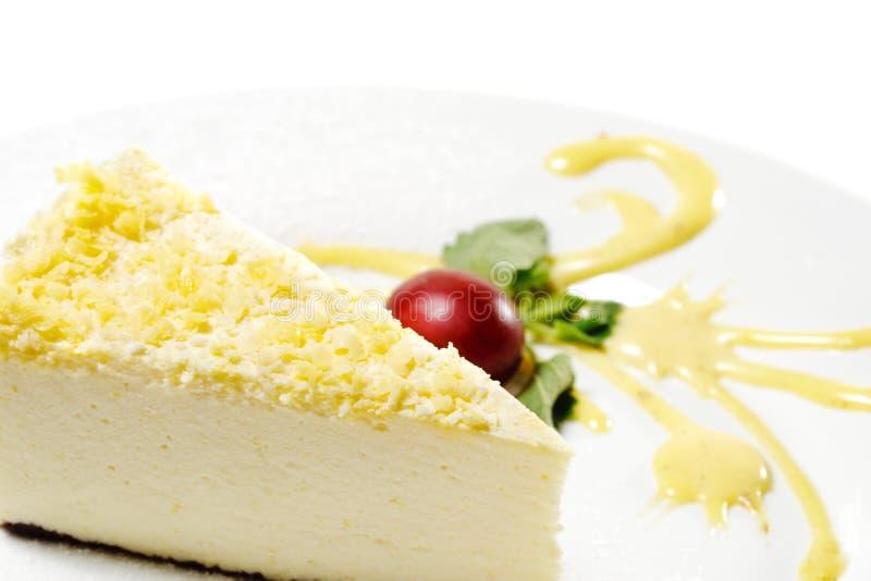 лимон десерта cheesecake стоковые фотографии rf