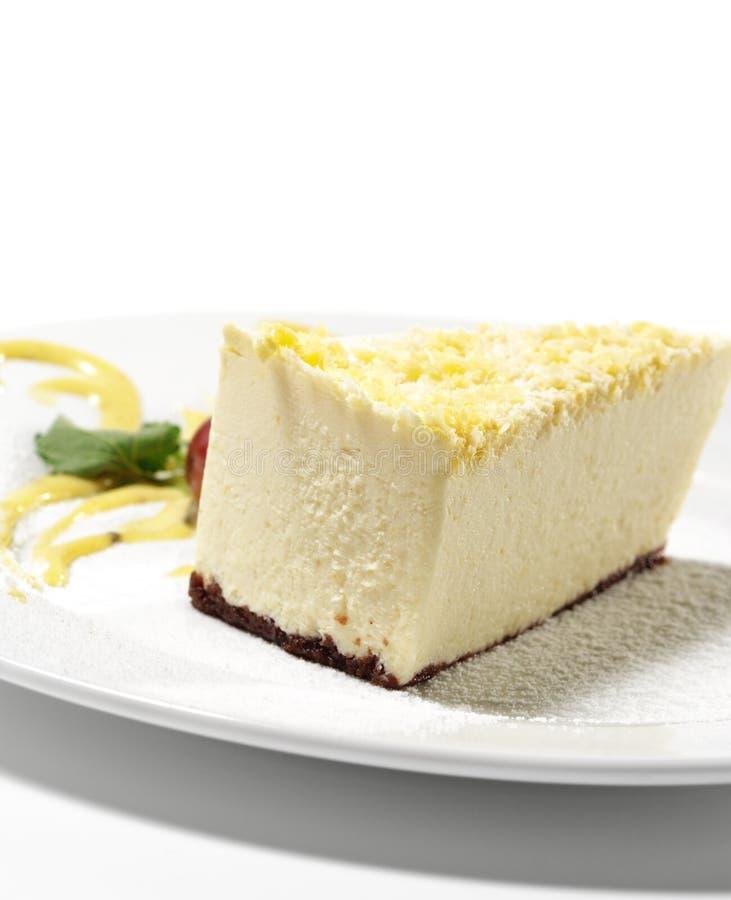 лимон десерта cheesecake стоковые изображения rf