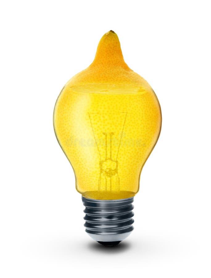 лимон изолированный шариком стоковые изображения
