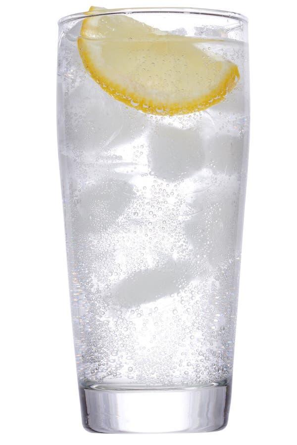 лимон льда джина коктеила стоковое фото rf