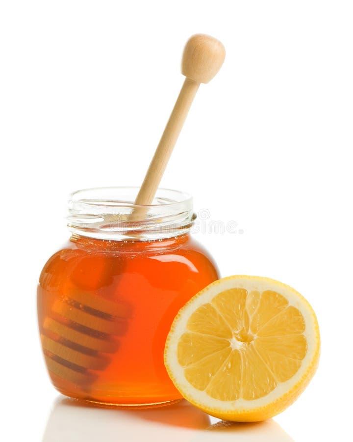 лимон меда стоковое изображение rf