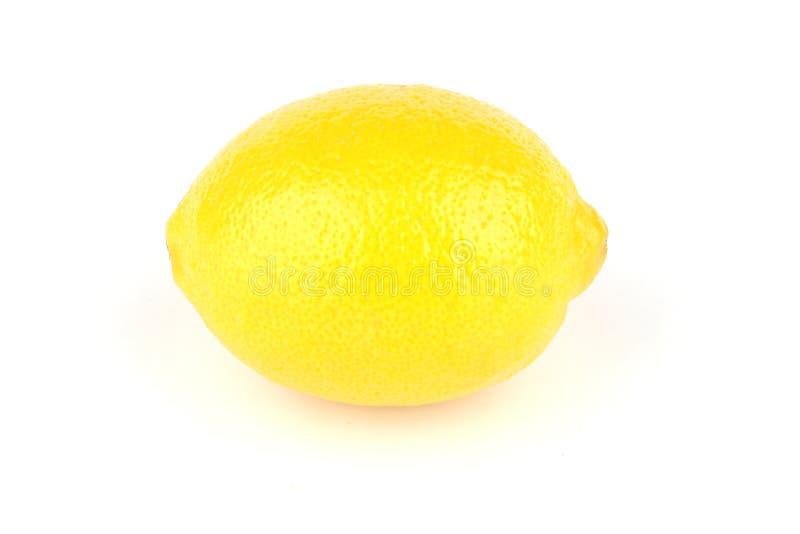 лимон одиночный стоковые изображения